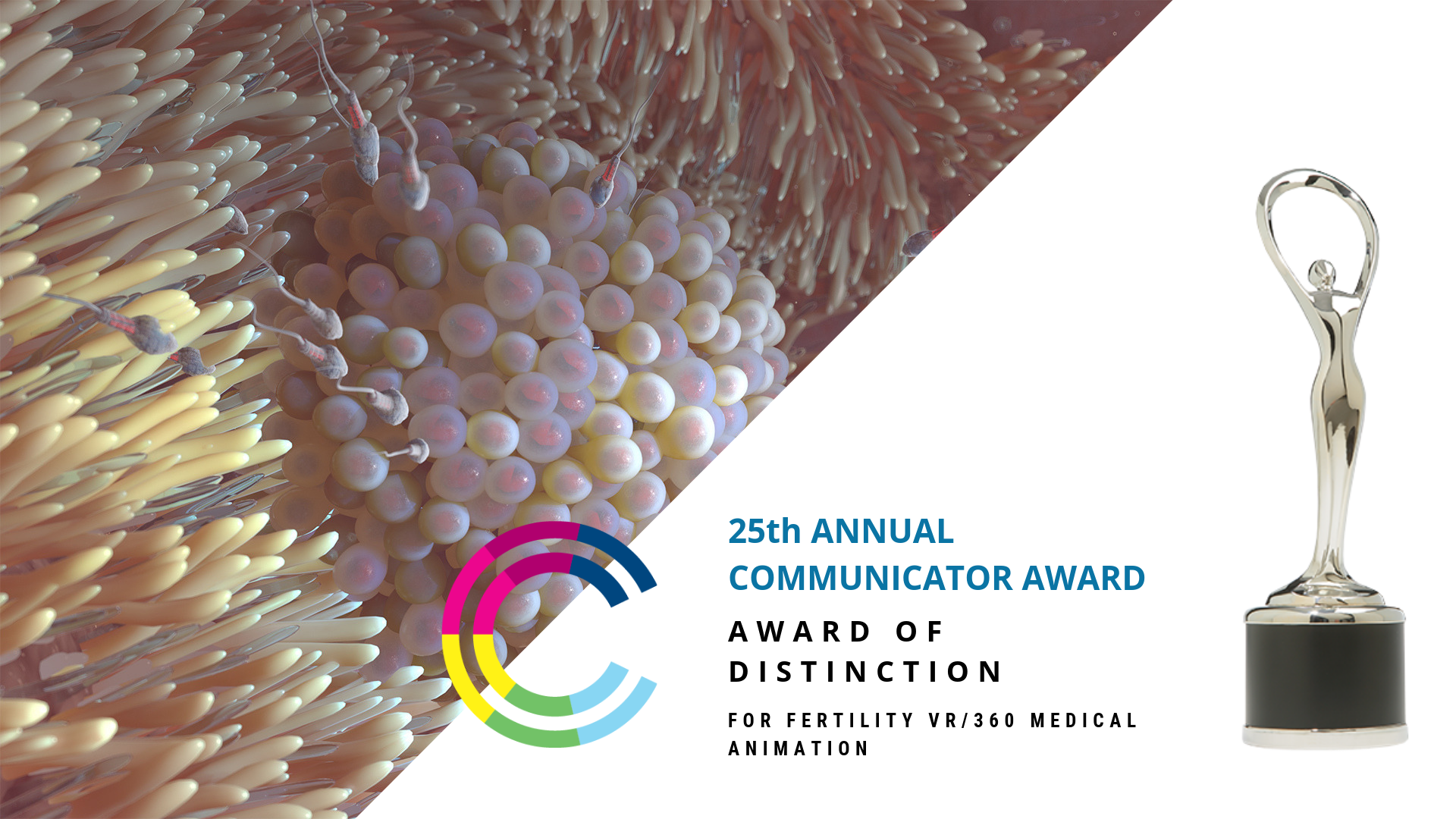 Nanobot Medical Animation Studio Was Honored for their Excellent VR Skills at the Annual Communicator Awards